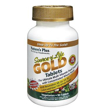 Nature's Plus Source of Life Gold Tablets 90 Tablets