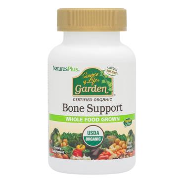 Nature's Plus Source of Life Garden Bone Support 120 Vegetable Capsules
