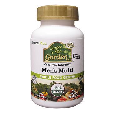 Nature's Plus SOL Garden Organic Mens Multi 90s