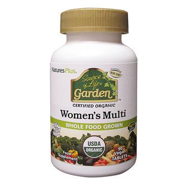 Nature's Plus Source of Life Garden Organic Women's Multi 90 Tablets