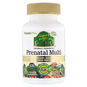 Nature's Plus Source of Life Garden Prenatal Organic 90 Tablets