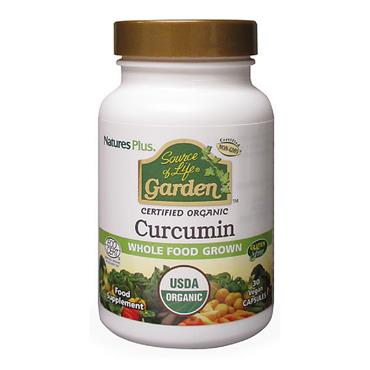 Source of Life Garden- Curcumin 400mg Organic 30 Capsules