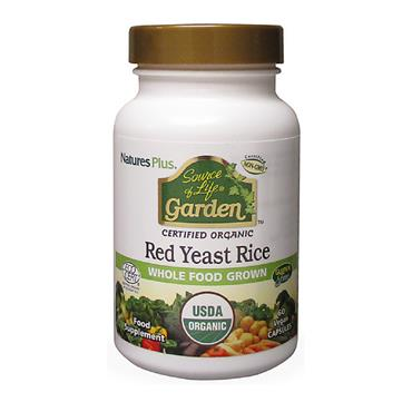 Source of Life Garden- Red Yeast Rice 600 mg Organic 60 Capsules