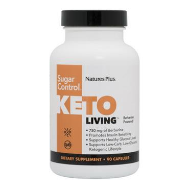 Nature's Plus Keto Living Sugar Control 90 capsules