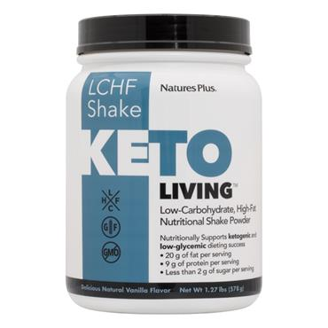 Nature's Plus KetoLiving Vanilla Shake 578g