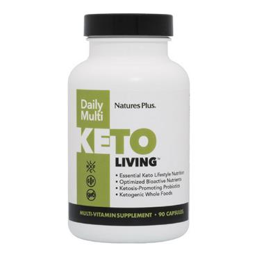 Nature's Plus KetoLiving Daily Multi 90 Capsules