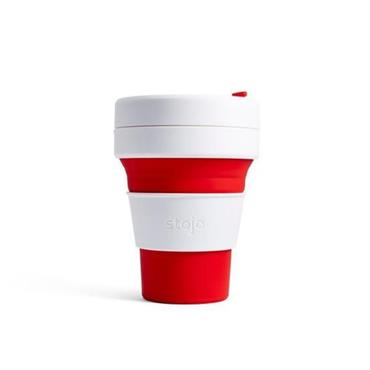 Stojo Pocket Cup Red 340ML