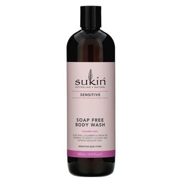 SUKIN Sensitive Soap Free Body Wash 500ml