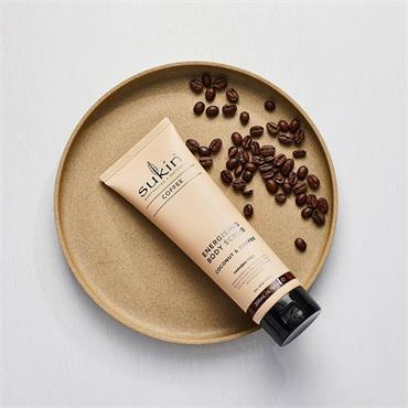 Sukin Energising Coffee Coconut Body Scrub 200ml