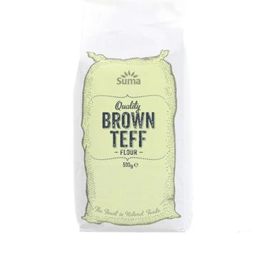 Brown Teff Flour 500g