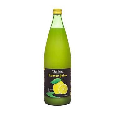Sunita Organic Lemon Juice 1 Litre