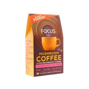 Super Foodies Focus Mushroom Coffee 10s