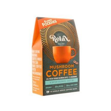 Super Foodies Relax Mushroom Coffee 10s