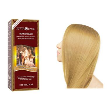 Surya Hair Cream Swedish Blonde 70ml