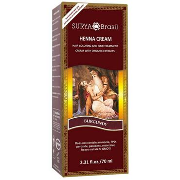 Surya Hair Cream Burgundy 70ml