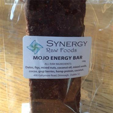Raw Mojo Energy Bar 100g