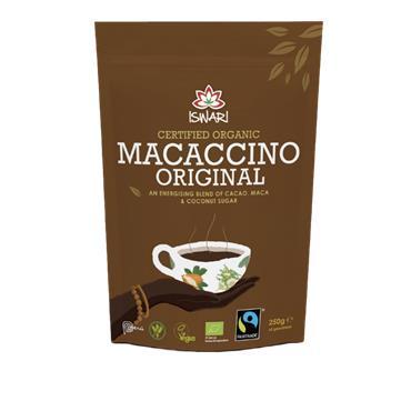 Iswari Organic Macaccino Drink 250g