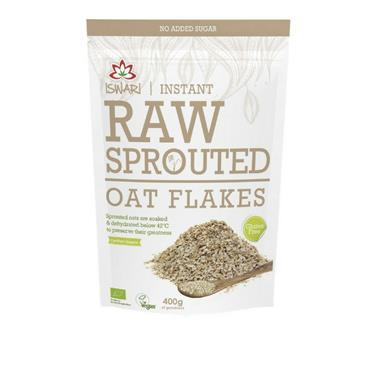 Iswari Sprouted GF Oat Flakes 250g