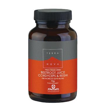 Terra Nova Beetroot Juice, Cordyceps & Reishi 70g