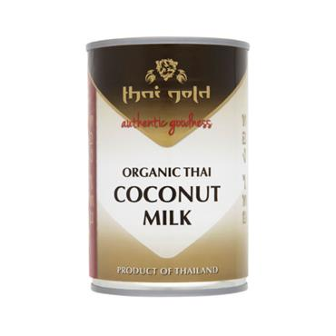 Thai Gold Organic Thai Coconut Milk 400ml