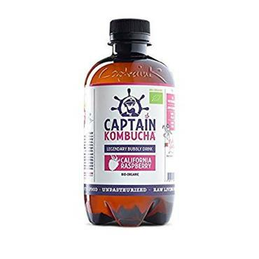 Captain Kombucha Organic California Raspberry 400ml