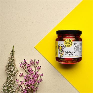 Toca Raw Organic Mountain Honey 270g