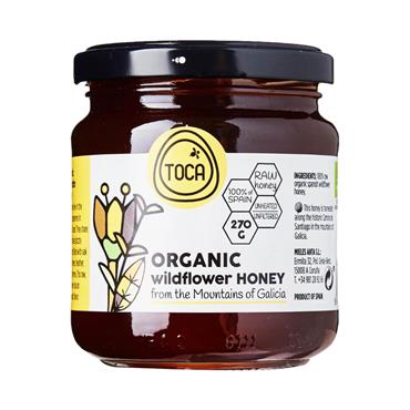 Toca Raw Organic Mountain Honey 270g