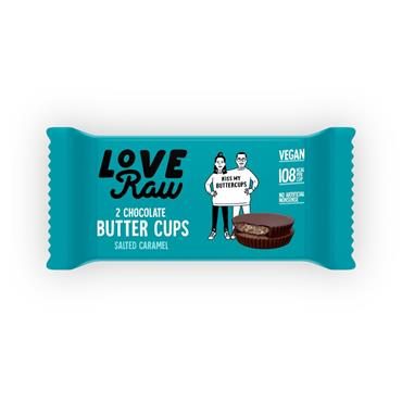 Love Raw Butter Cups 34g Salted Caramel