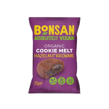 BONSAN Organic Hazelnut Cookie Melt 25g