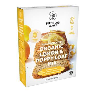 Superfood Bakery Bakery Lemon Poppy Seed Loaf 270g