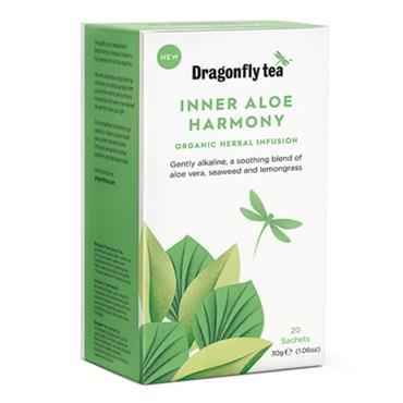 Dragonfly Tea Organic Inner Aloe Harmony Tea 20s