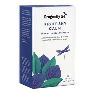 Dragonfly Tea Organic Night Sky Clam Tea 20s