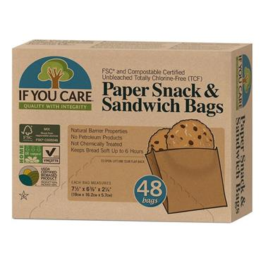 IF YOU CARE SANDWICH BAGS 48 pack