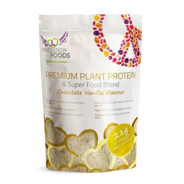 Revolution Vanilla Choc 250g Protein Vegan