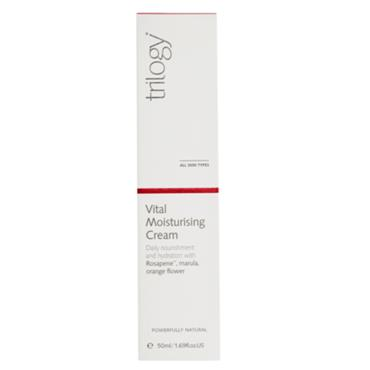 Trilogy Vital Moisturising Cream Pump 50ml
