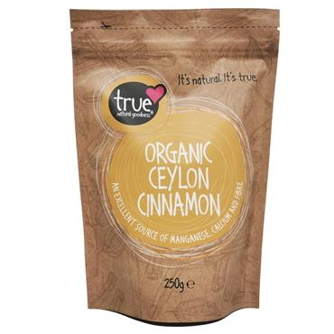 True Natural Goodness Organic Ceylon Cinnamon 250 g