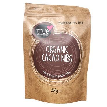 True Natural Goodness Organic Cacao Nibs 250g