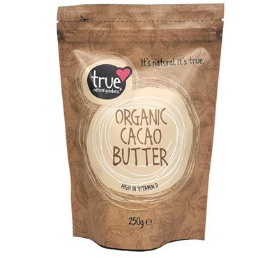 True Natural Goodness Organic Cacao Butter 250g