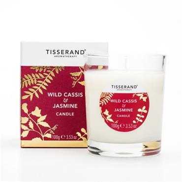 Tisserand Cassis & Jasmine Candle 100g