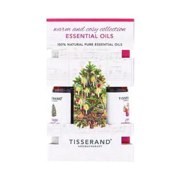 Tisserand Warm & Cosy Essential Oils 3X9ml
