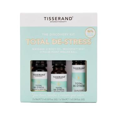 Tisserand Total De-Stress Discovery Kit