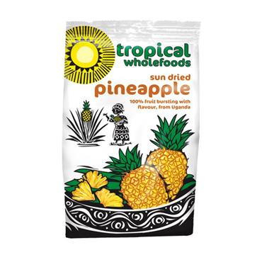 Tropical Wholefoods Fairtrade Organic Sundried Pineapple 100g