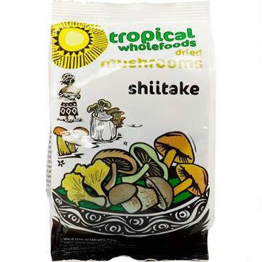 Tropical Wholefoods Shiitake Mushrooms 50g