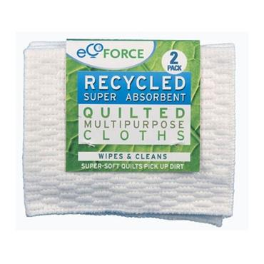 Ecoforce All Purpose Cloths (2 Cloths)