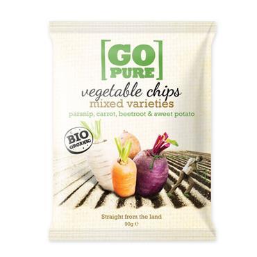 GoPure Veg Chips 90g
