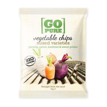 GoPure Veg Chips 40g