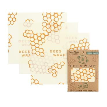 Beeswax Reusable Food Wrap 3 pack Small