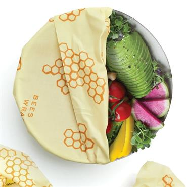 Bees Wrap REUSABLE FOOD WRAP Large 1PK 33x35cm