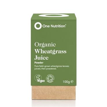 One Nutrition Wheatgrass Juice Powder 100g