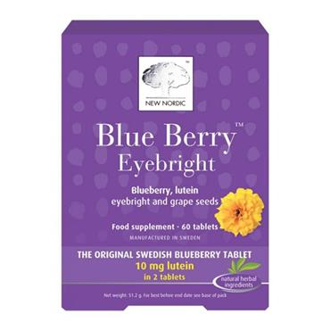 New Nordic Blueberry Tablets 60 Tablets